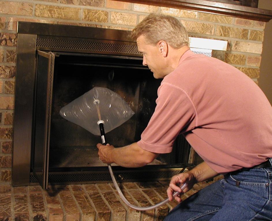 Fireplace Design fireplace damper handle : Chimney Balloon | Comfort Institute Store